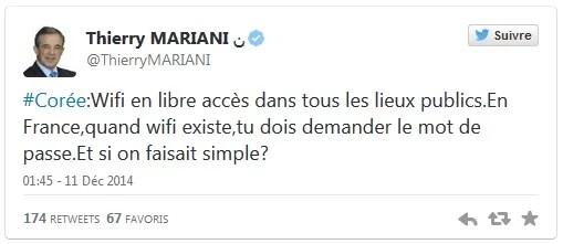 Mariani tweet