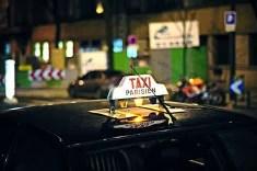 Taxi parisien Credit Mathieu Fosse (Creative Commons)