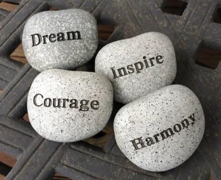 stones -rève courage motivation - CC pixabay