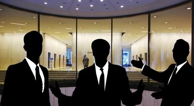Partenariat - Entreprise - Personnel (image libre de droits)