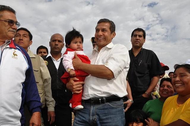 Presidente Ollanta Humala - Credits  Presidencia Perú (CC BY-NC-SA 2.0)