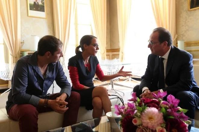 Julie Husson François Hollande