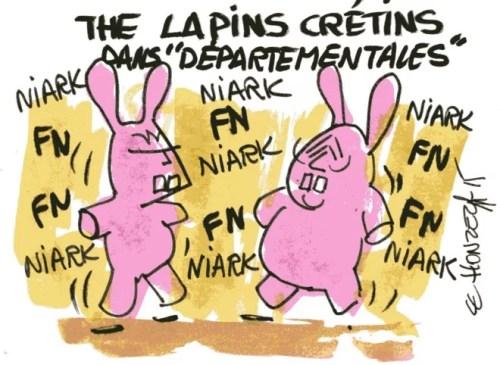 lapins crétins départementales