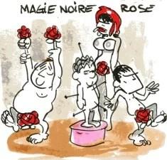magie rose rené le honzec