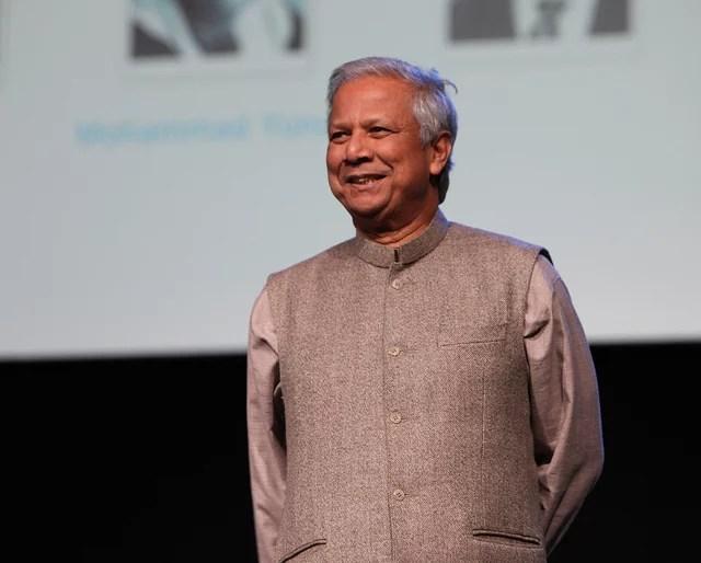 Muhammad Yunus - Credits University of Salford Press Office (CC BY 2.0)