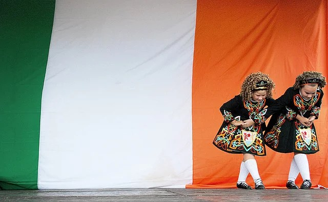 irish dancers credits James Jordan (CC BY-ND 2.0)