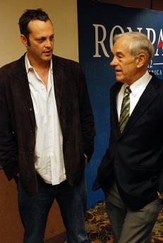 Vince Vaughn & Ron Paul