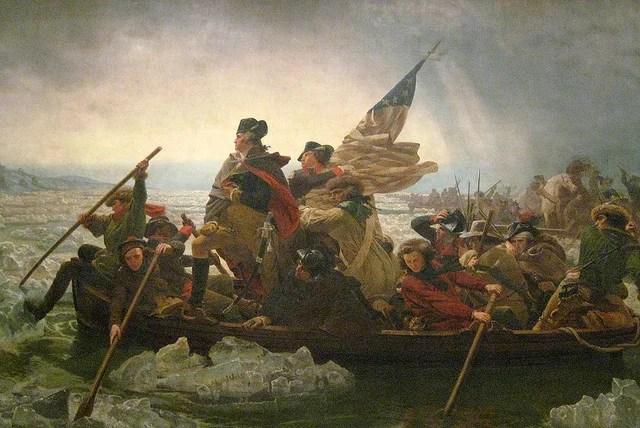 NYC - Metropolitan Museum of Art: Washington Crossing the Delaware credits Wally Gobetz licence  (CC BY-NC-ND 2.0)), via Flickr.