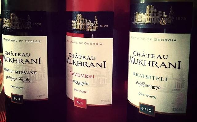 Chateau Mukhrani  Georgian wine tasting - Dominic Lockyer (CC BY 2.0)
