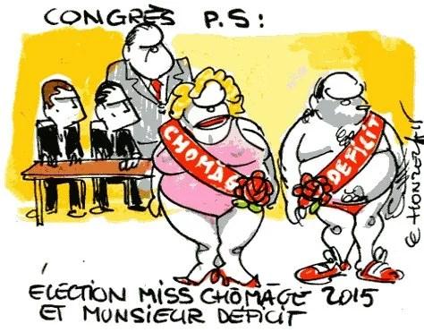Contrepoints522 Congrès PS Chômage Déficit - René Le Honzec