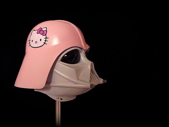 Hello kitty Darth Vader credits JD Hancock via Flickr ((CC BY 2.0)