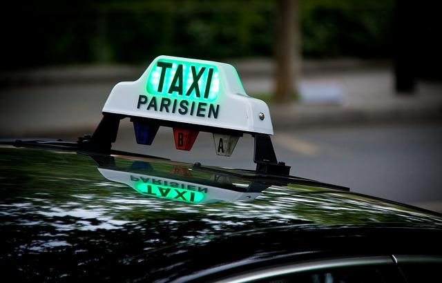 Un taxi parisien