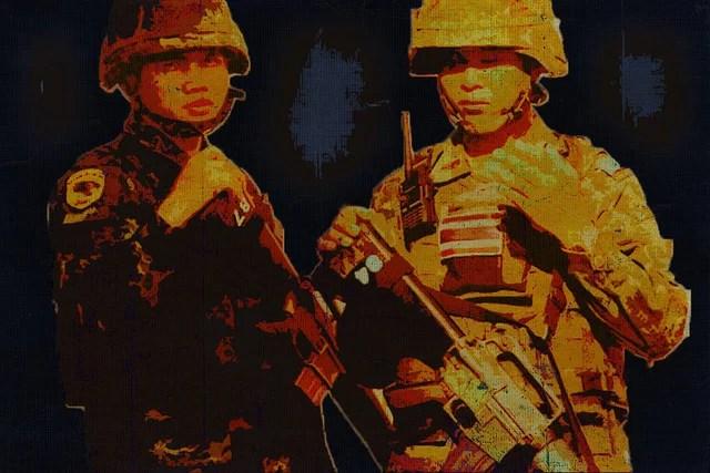 Thai soldiers credits Ak Rockefeller via Flickr ((CC BY-SA 2.0))