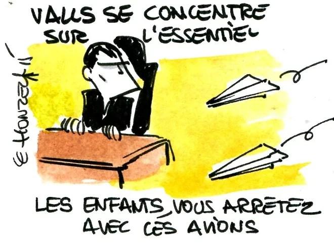 Valls avion rené le honzec