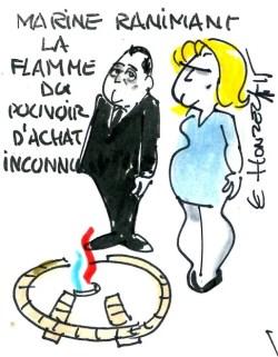 Contrepoints646 - Marine Le Pen - Pouvoir d'achat - René Le Honzec