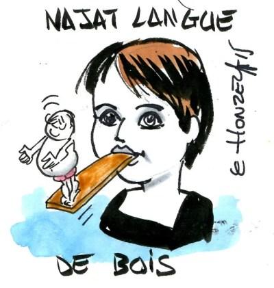 Contrepoints648 - Najat Vallaud Belkacem - Langue de bois - René Le Honzec
