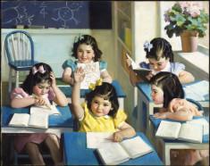 Ecole-biblioArchives-Dionne Quintuplets(CC BY 2.0)