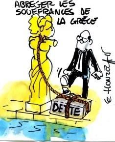 crise grecque rené le honzec