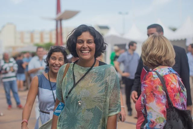 Myriam El Khomri credits Parti Socialiste via Flickr ( (CC BY-NC-ND 2.0)