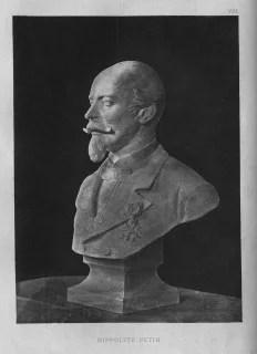 Hippolyte Petin, buste à la Chambre de commerce de Saint-Etienne