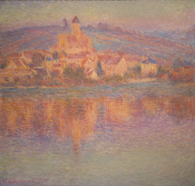 Vétheuil by Claude Monet credits Mark6mauno (CC BY-NC 2.0)
