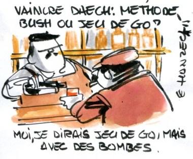 methode bush ou jeu de go René Le Honzec