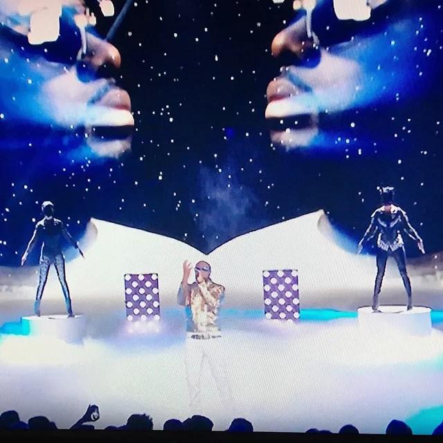 Maitre Gims dancers wearing On Aura Tout Vu #nma #nma2015 #NRJMusicAwards #onauratoutvu #tf1 #maitregims Thanks To Romuald Premier @nrjmusicawards_2015 @maitregims @romuald_premier @onauratoutvu @livifraise @yassenwonderland credits on aura tout vu (CC BY-NC-ND 2.0)