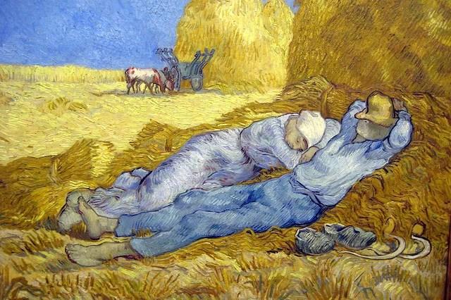 Van Gogh La Sieste-Wally Gobetz(CC BY-NC-ND 2.0)