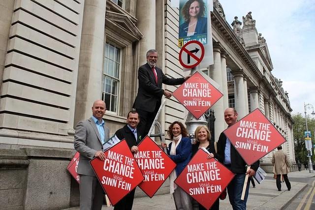 Sinn Fein crédits Sinn Fein (CC BY 2.0)