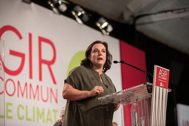 Emmanuelle Cosse, ministre du logement