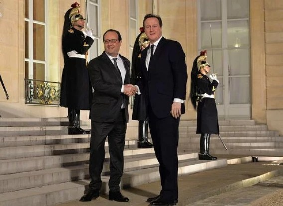 Number 10-President Hollande and PM(CC BY-NC-ND 2.0)