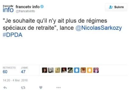 Tweet Nicolas Sarkozy 2