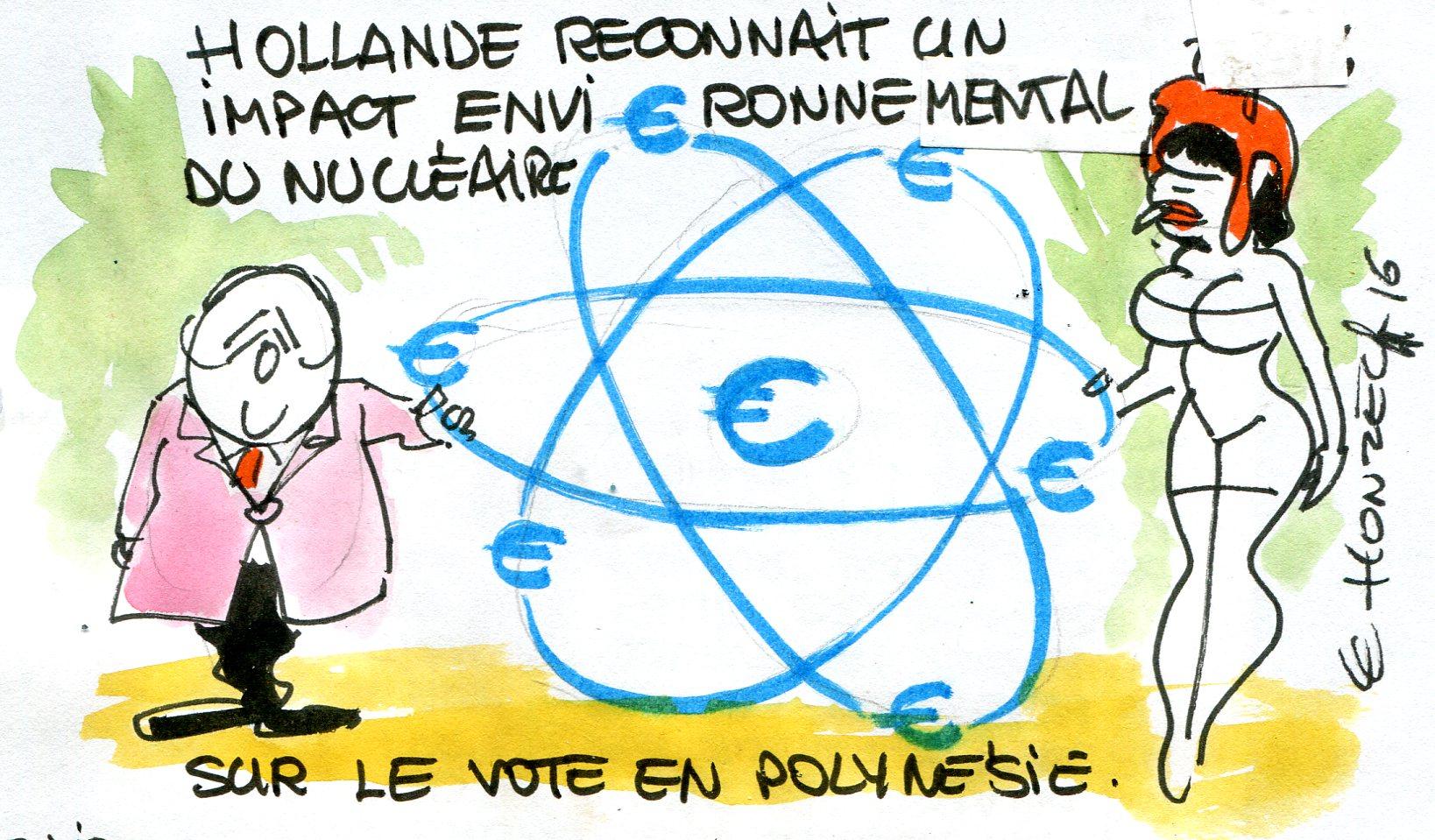 Hollande rené le honzec