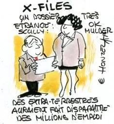 X files René le Honzec