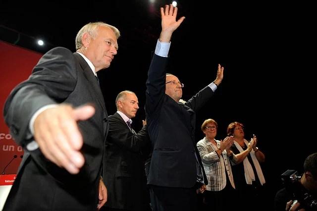 Hollande : ah, si la politique était comme le foot...