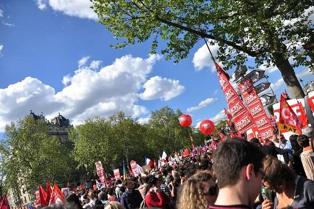 Derrière la manifestation l'ombre du financement des syndicats