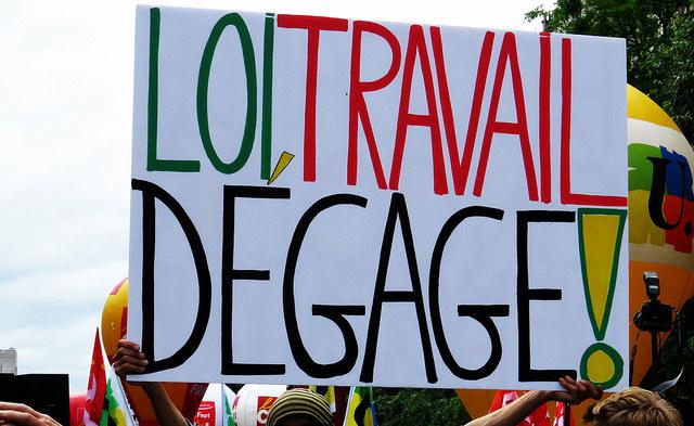 Loi Travail by doubichlou(CC BY-NC-ND 2.0)