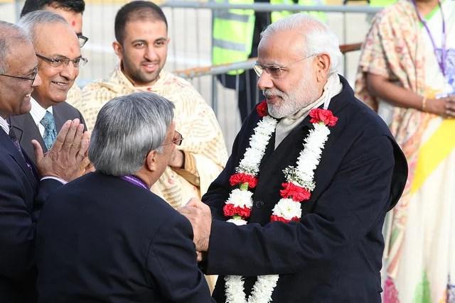 suppression du cash par Modi