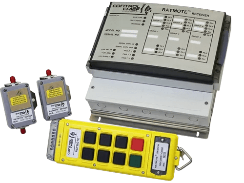 -Designed to operate up to five (5) 2-speed motors -Full system diagnostics -Remote shutdown function -Programmable alert function -Auxiliary functions can be added -Motherboard design -Operating range of 150 ft -Sensor placement permits operating range modification
