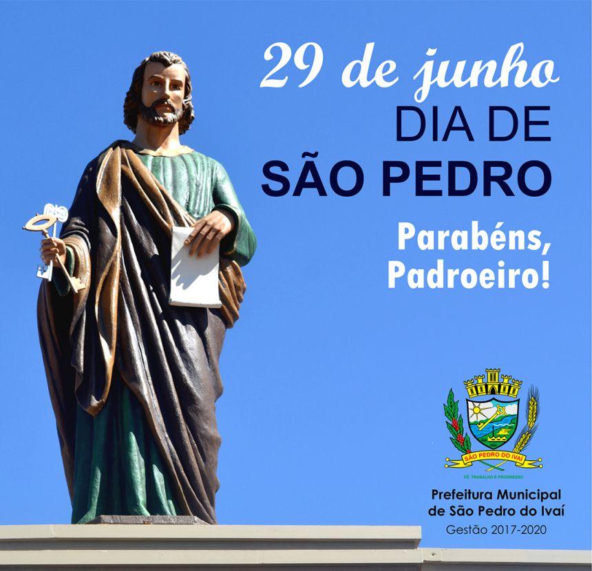 Dia do Padroeiro é decretado feriado municipal em São Pedro do Ivaí