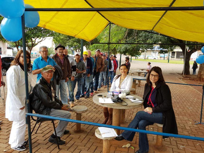 AGOSTO AZUL: campanha tem boa adesão em São João do Ivaí