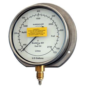 Tank Contents Gauge - Mild Steel Internal Transmitter
