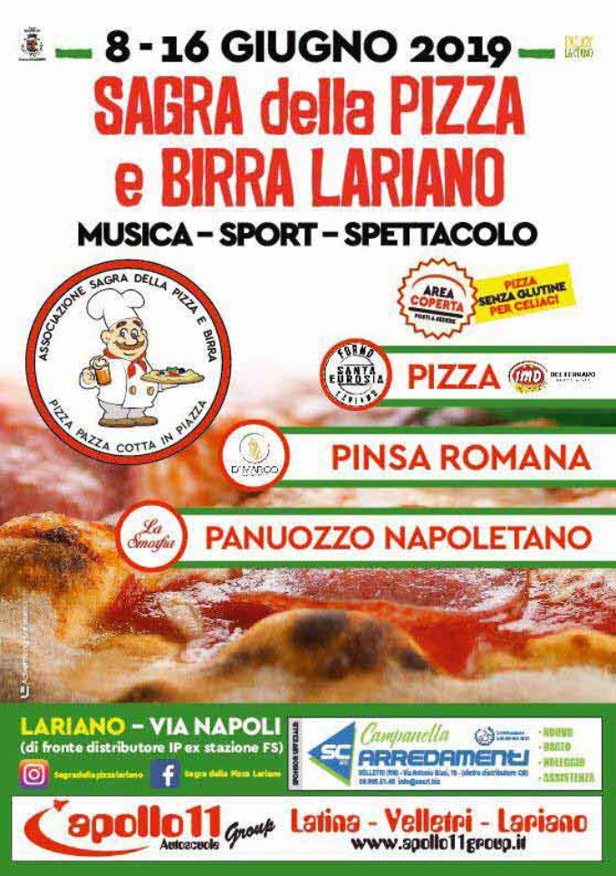 Lariano In Arrivo La Sagra Della Pizza E Birra Notizie