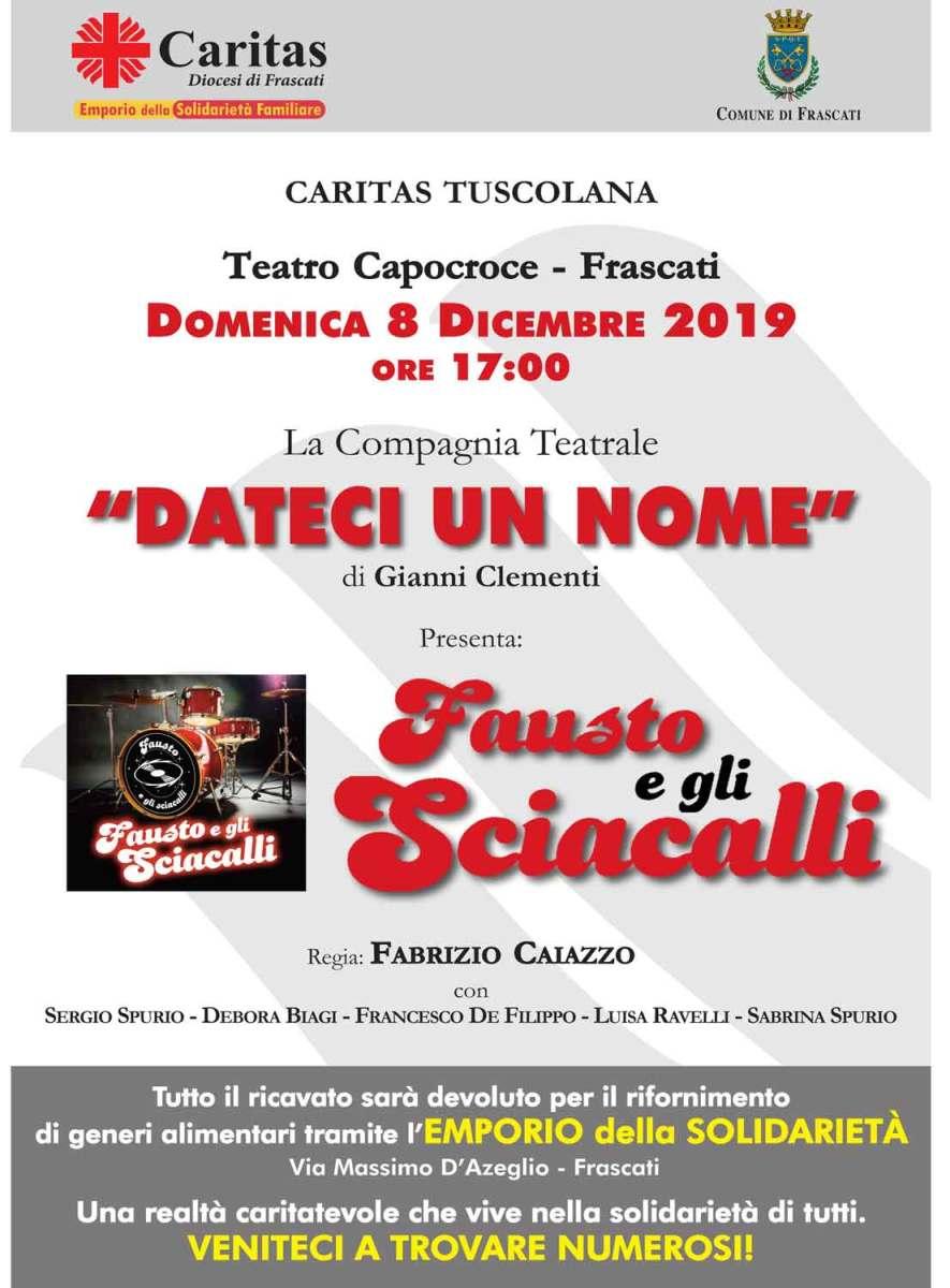 Frascati, la Caritas Diocesana domenica sarà in piazza per promuovere l'Emporio della Solidarietà - Controluce Notizia