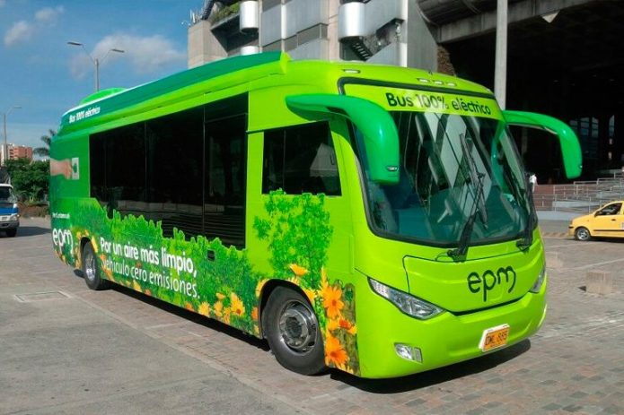 BYD to supply Colombia's largest 100% electric bus fleet
