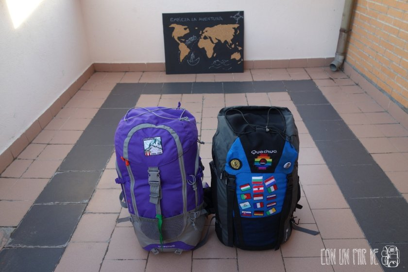 Lo esencial cabe en una mochila