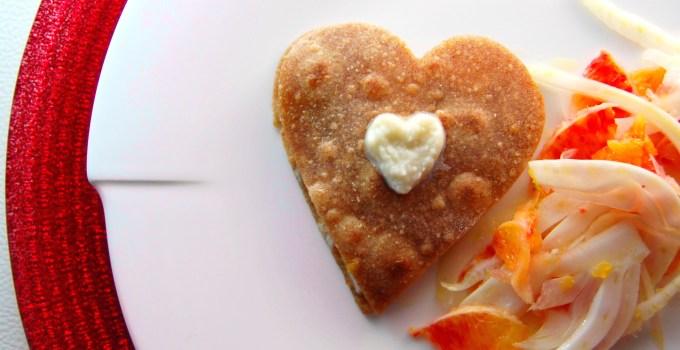 L'amore e i diritti umani: piadina al salmone e finocchi