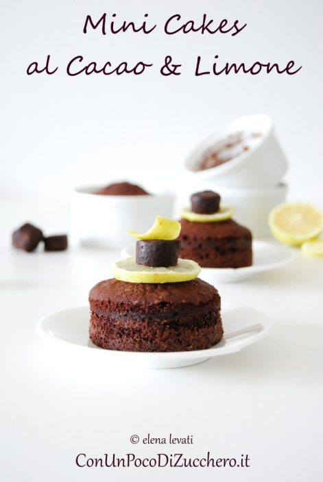 cocoa-and-lemon-mini-cakes