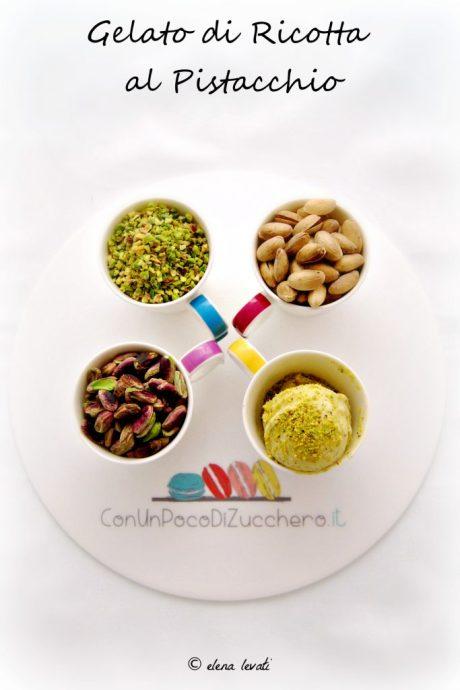 Gelato di ricotta al pistacchio 1