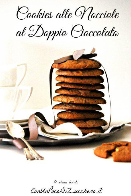 Cookies nocciole doppio cioccolato